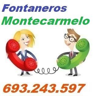 Telefono de la empresa fontaneros Montecarmelo